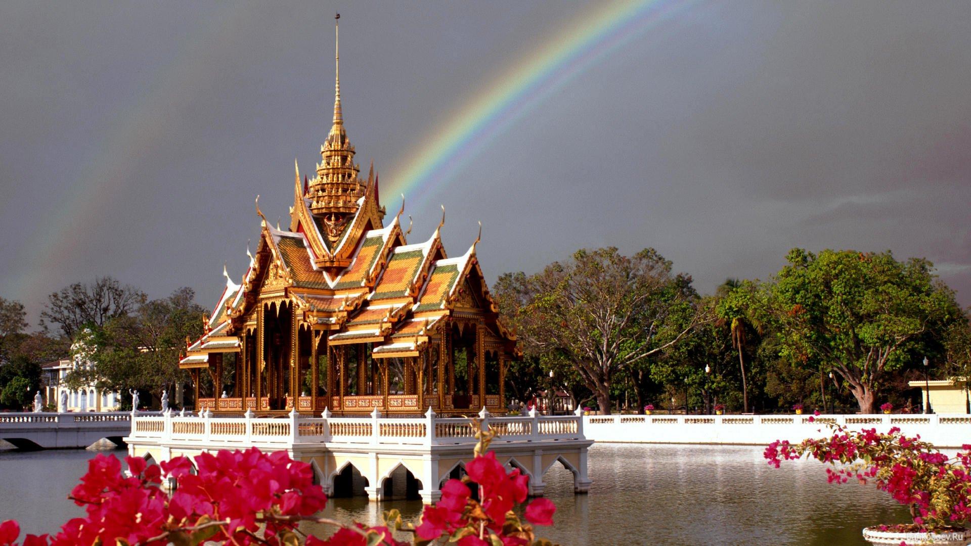 Bankoboev.Ru_dom_na_vode_korolevskii_dvorec_provinciya_ayutthaya_tailand