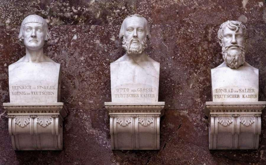 German-emperor-busts