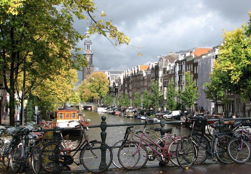 Голландия на велосипедах