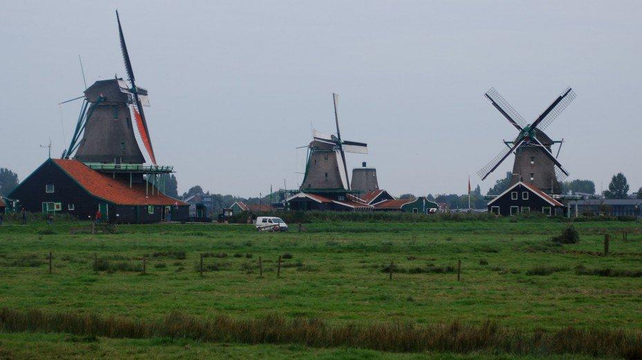 Ветряные мельницы Северной Голландии