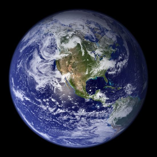 наша голубая планета
