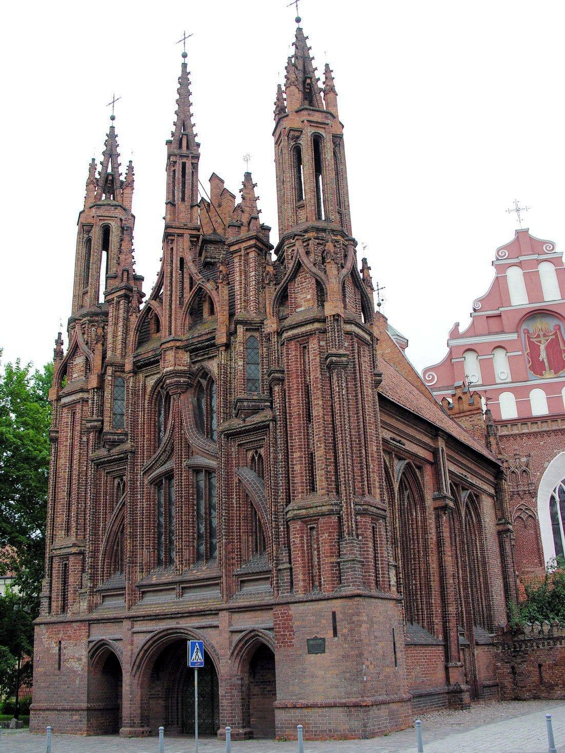 Vilnius.Sv.Onos_baznycia.Saint_Ann's_church2