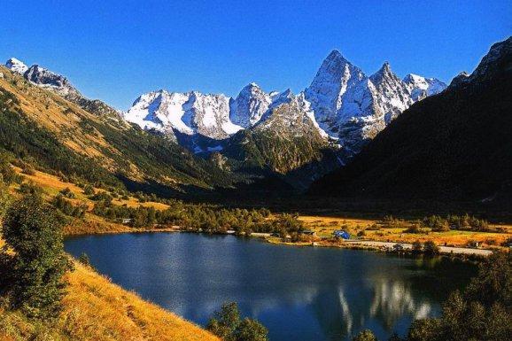 Чудеса Кавказа: Пятигорск - Железноводск - Домбай - Кисловодск - Медовые водопады